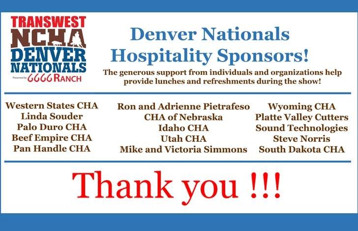 Denver Lunch Sponsors
